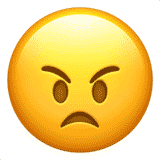 angry-face emoji