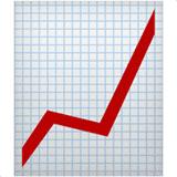 chart-increasing emoji