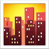 cityscape-at-dusk emoji