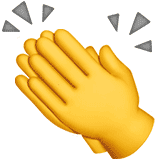 clapping-hands emoji