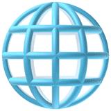 globe-with-meridians emoji