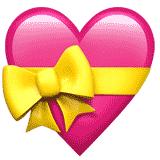 heart-with-ribbon emoji