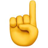 index-finger emoji