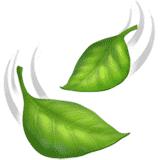 leaf-fluttering-in-wind emoji