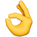 ok-hand emoji