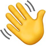 waving-hand emoji