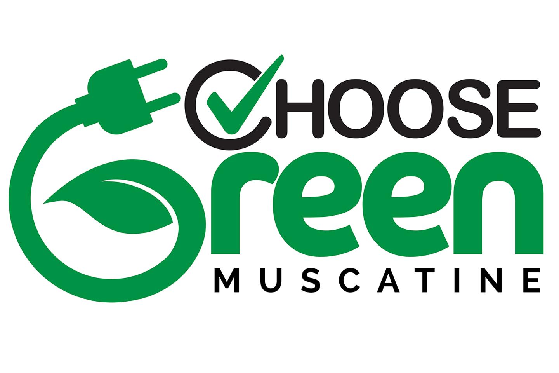 choose green muscatine logo