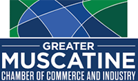 greater muscatine logo