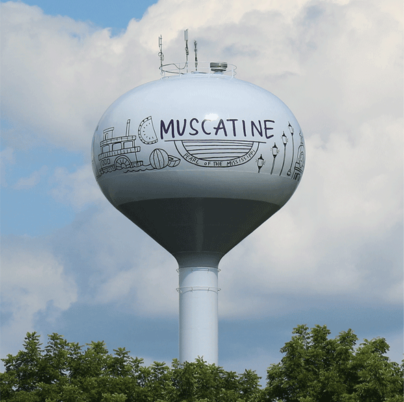 MPW water tower